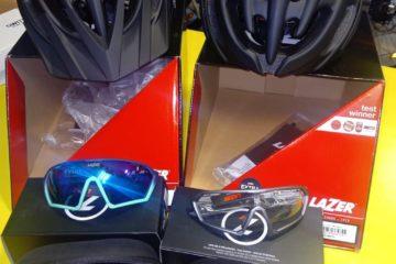 offerta casco occhiali lazer