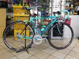 bici corsa bianchi usata