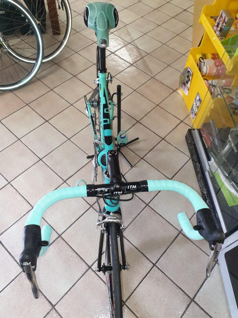 bicicletta bianchi corsa pezzi originali