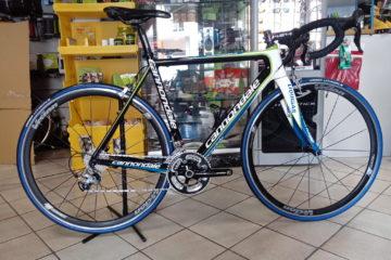 bici corsa cannondale usata